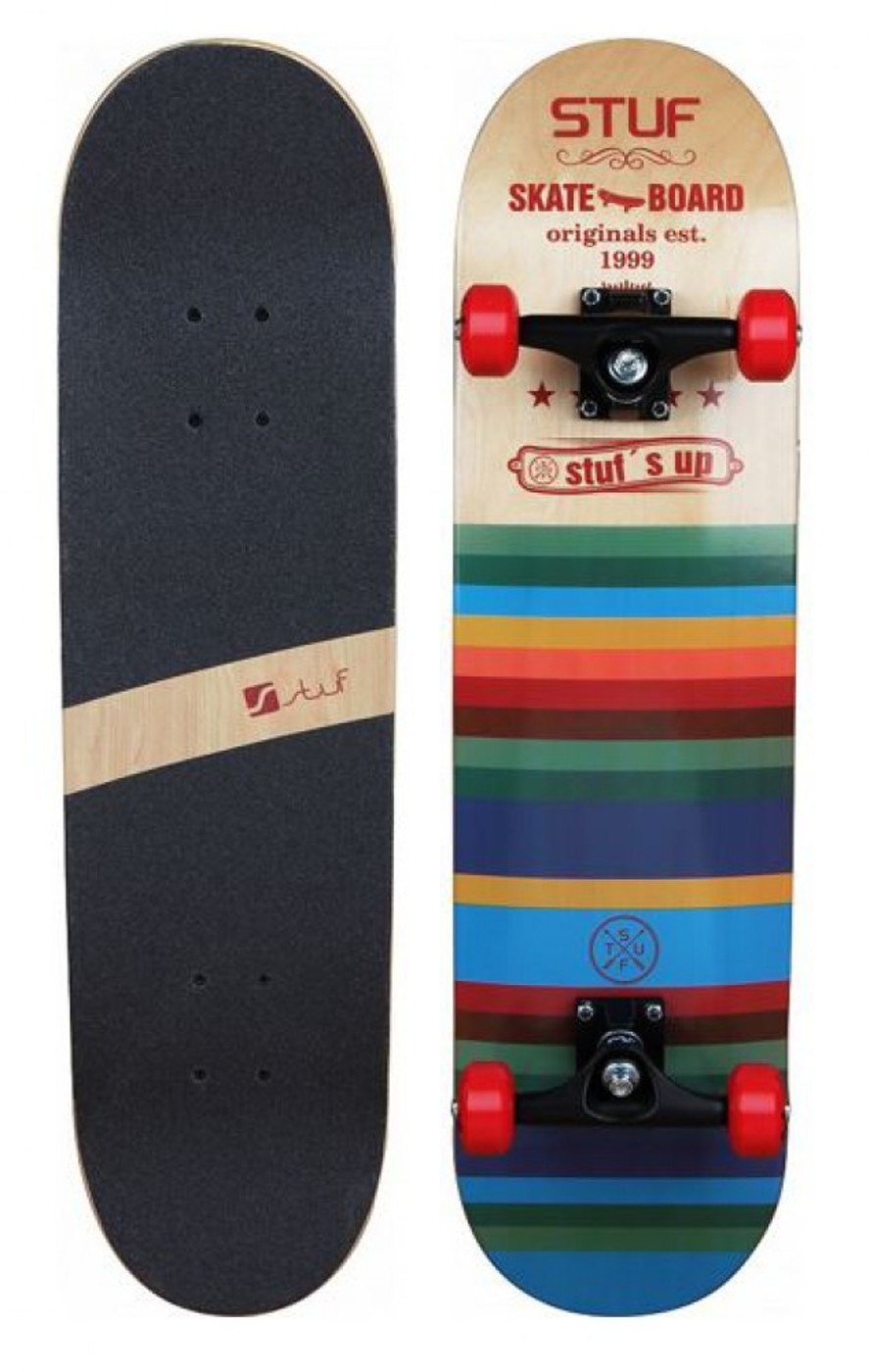 STUF BLUES SKATEBOARD