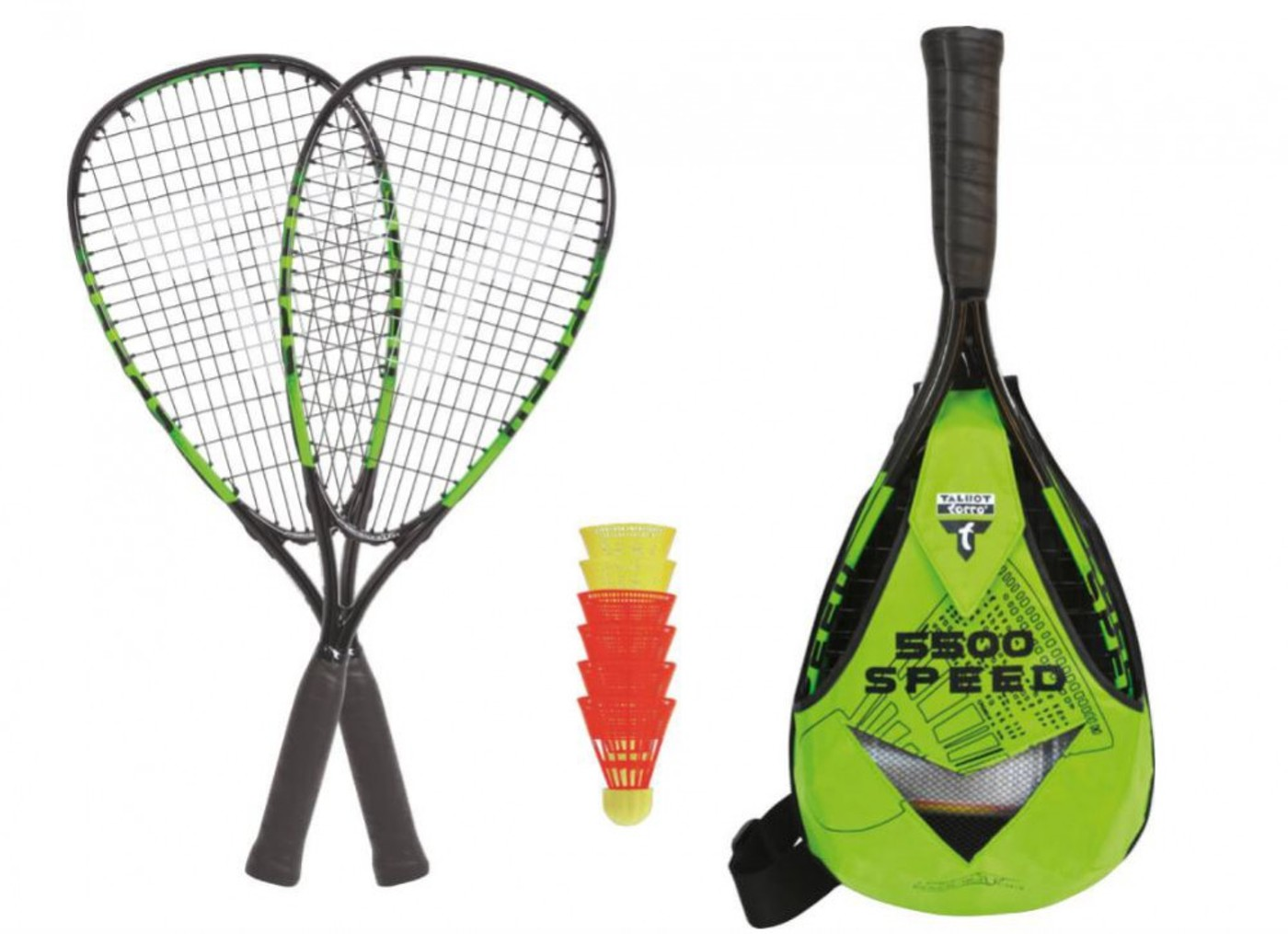 TALBOT TORRO Speedbadminton Set Speed 5500