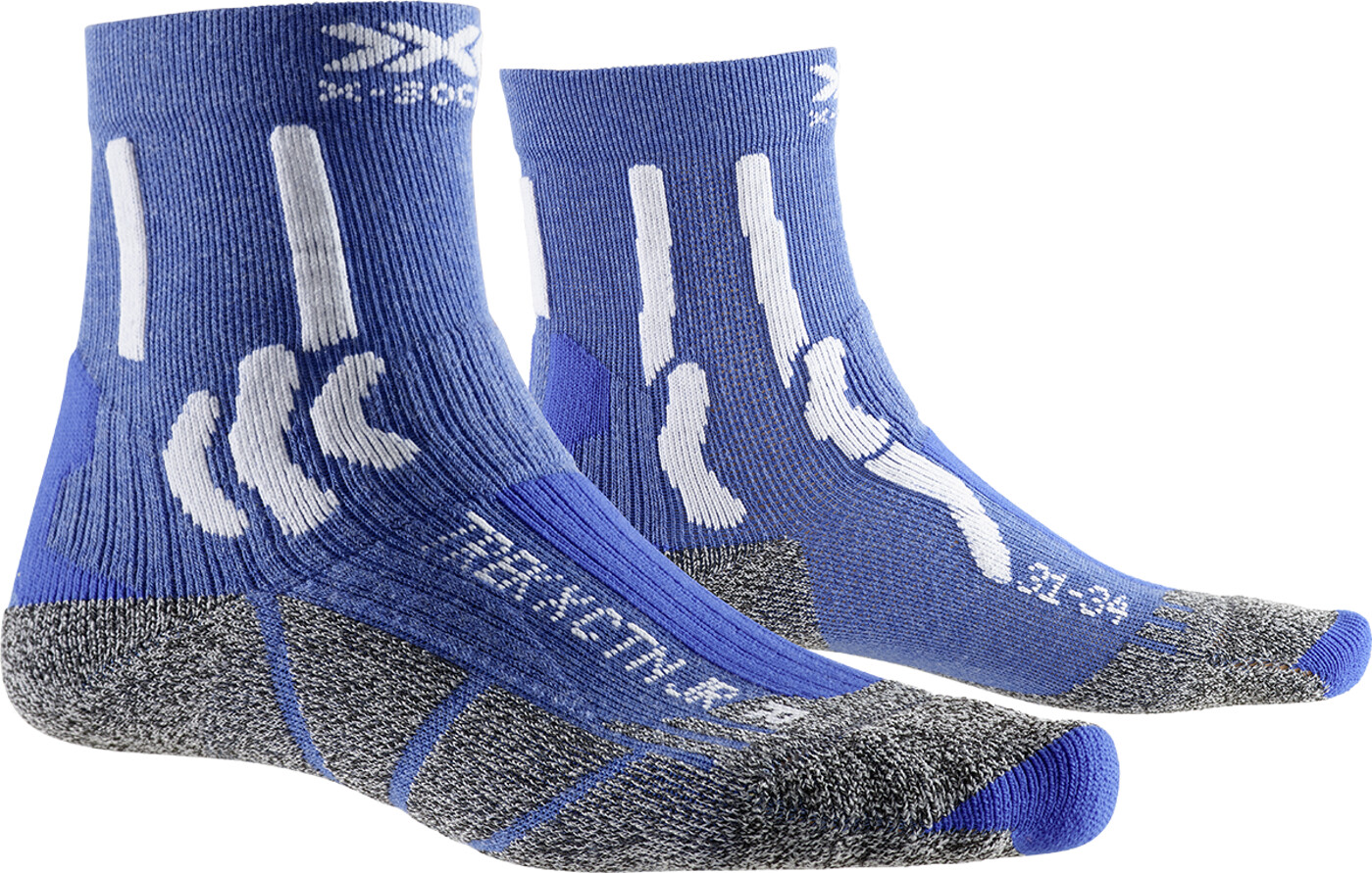 X-BIONIC TREK X COTTON JUNIOR Socken - Kinder