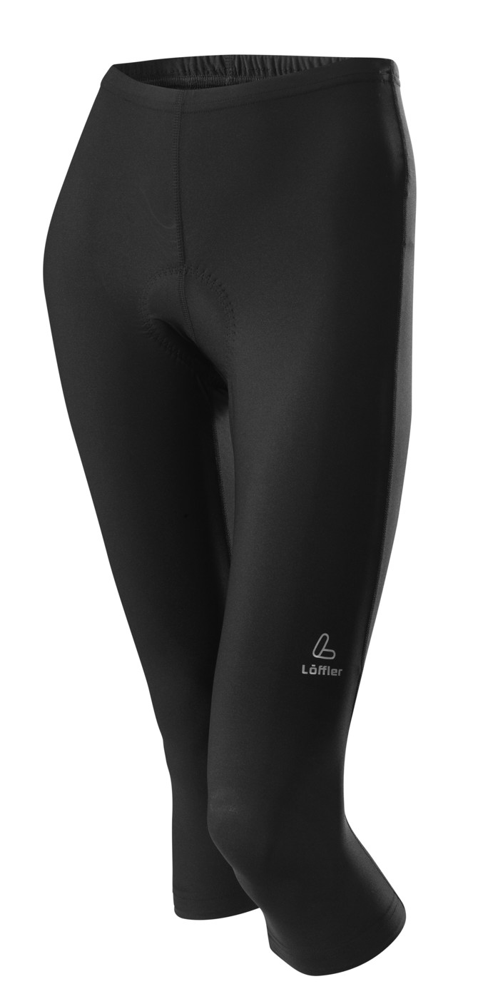 LÖFFLER W 3/4 BIKE TIGHTS BASIC - Damen