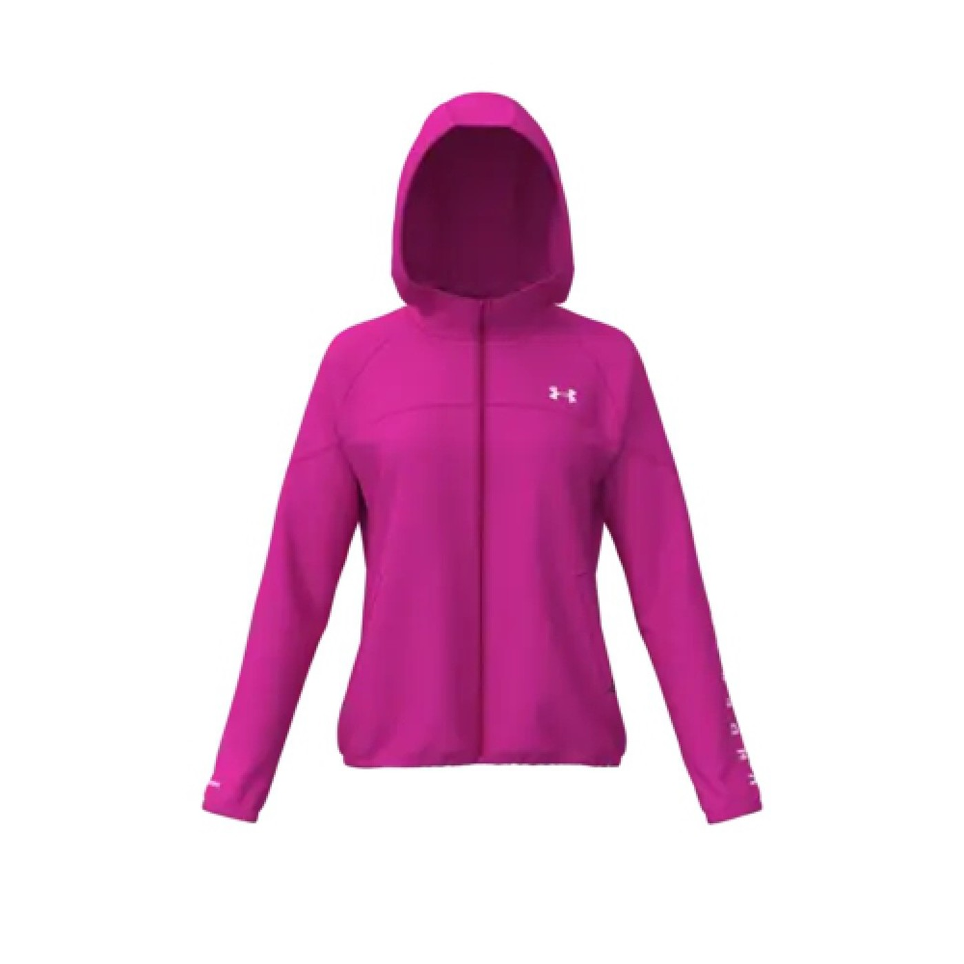 UNDER ARMOUR Woven Hooded Jacket - Damen