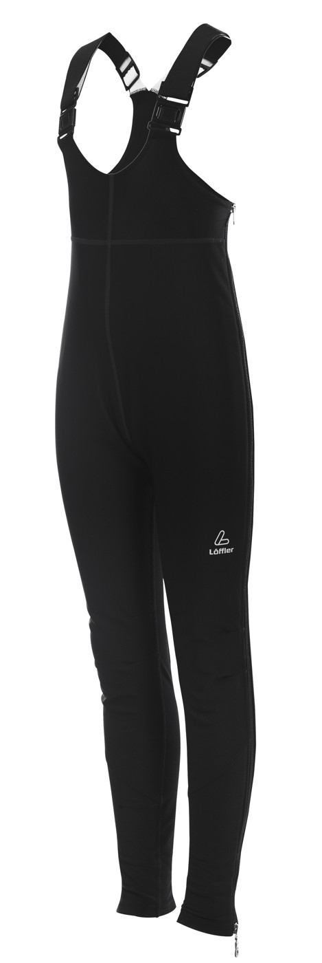 LÖFFLER K WARM-UP BIB TIGHTS WS WARM - Kinder