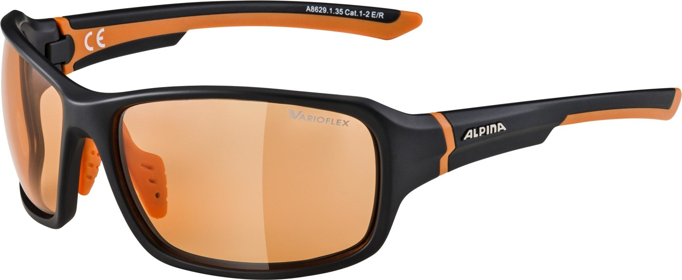 ALPINA Lyron VLO black m.-orange
