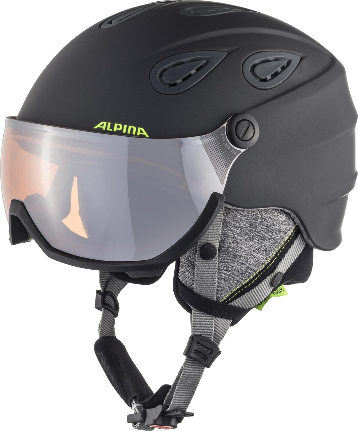 ALPINA Grap Visor HM ink-grey matt 57-61