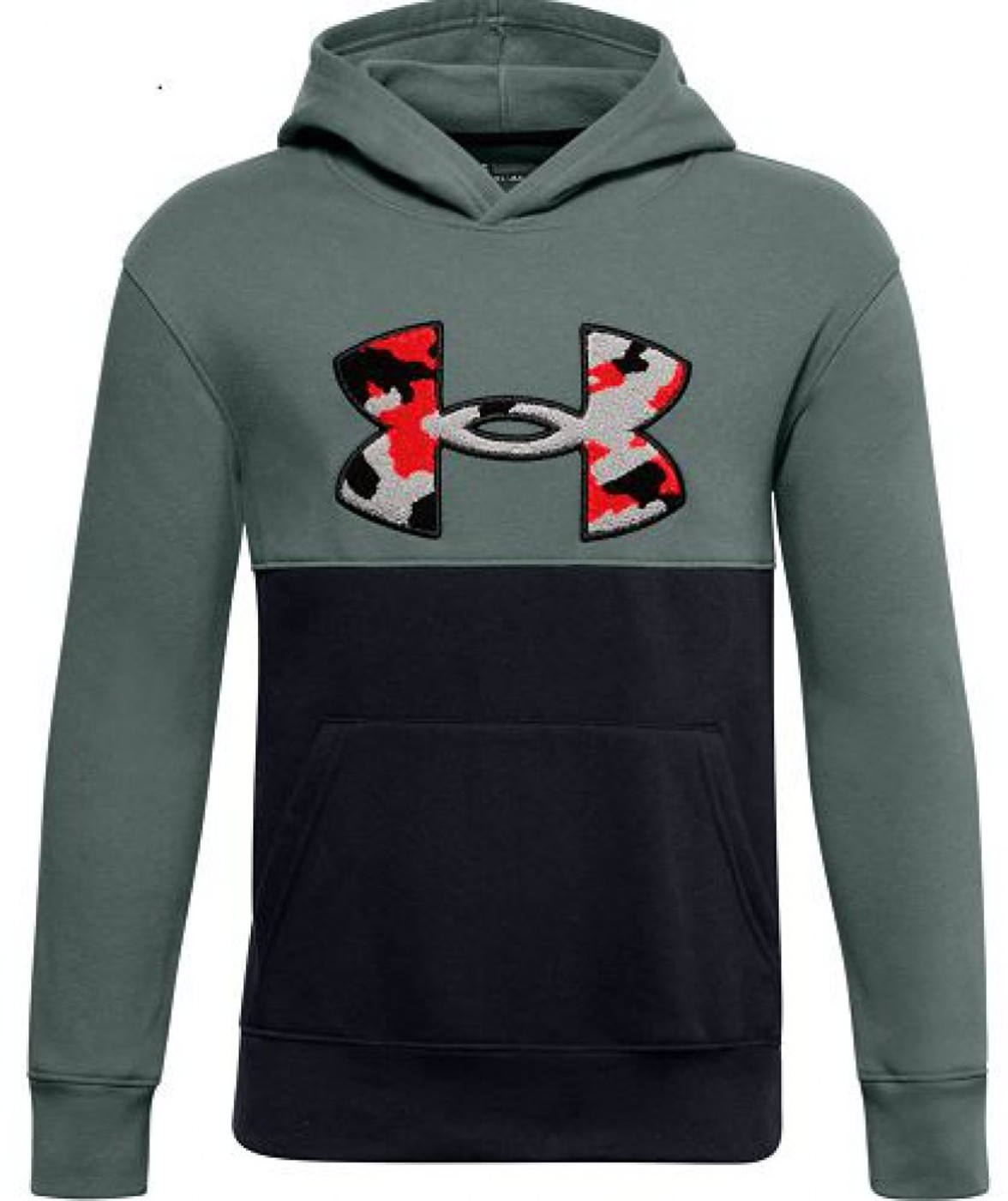 UNDER ARMOUR UA RIVAL FLEECE AMP HOODIE - Kinder