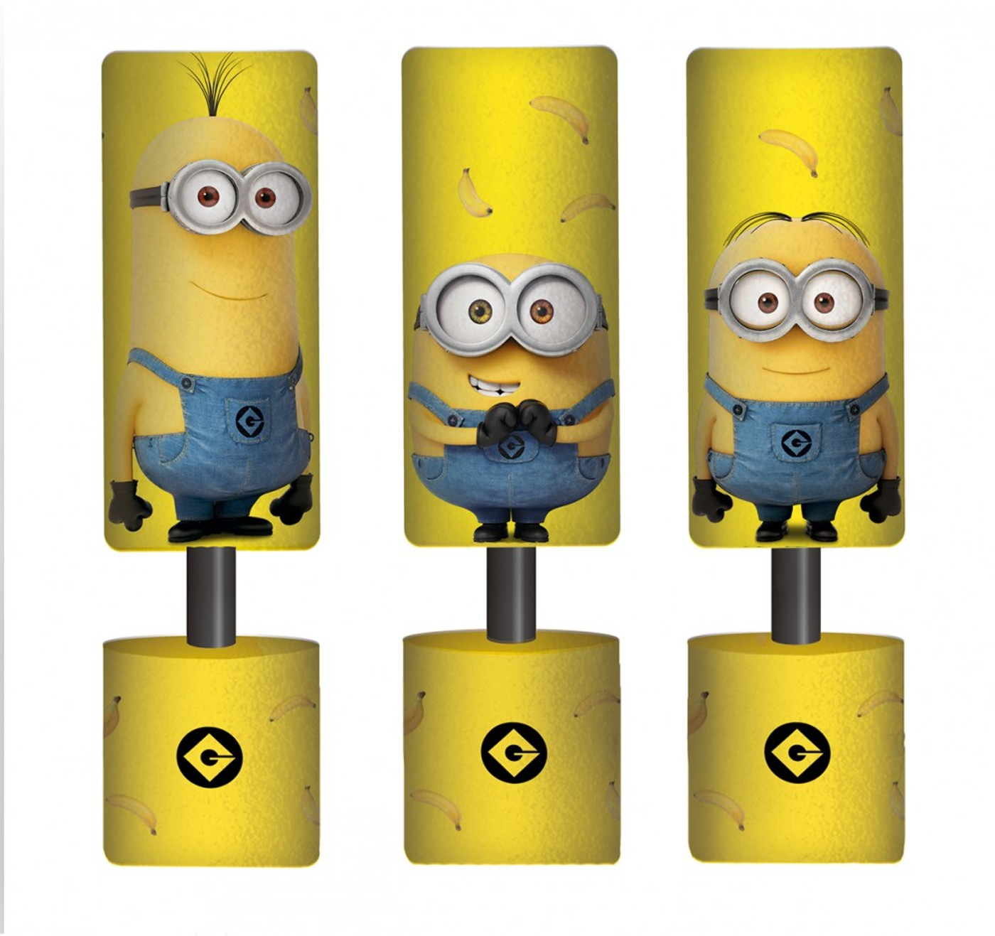 HAPPY PEOPLE Minions Foam Shooter - Kinder