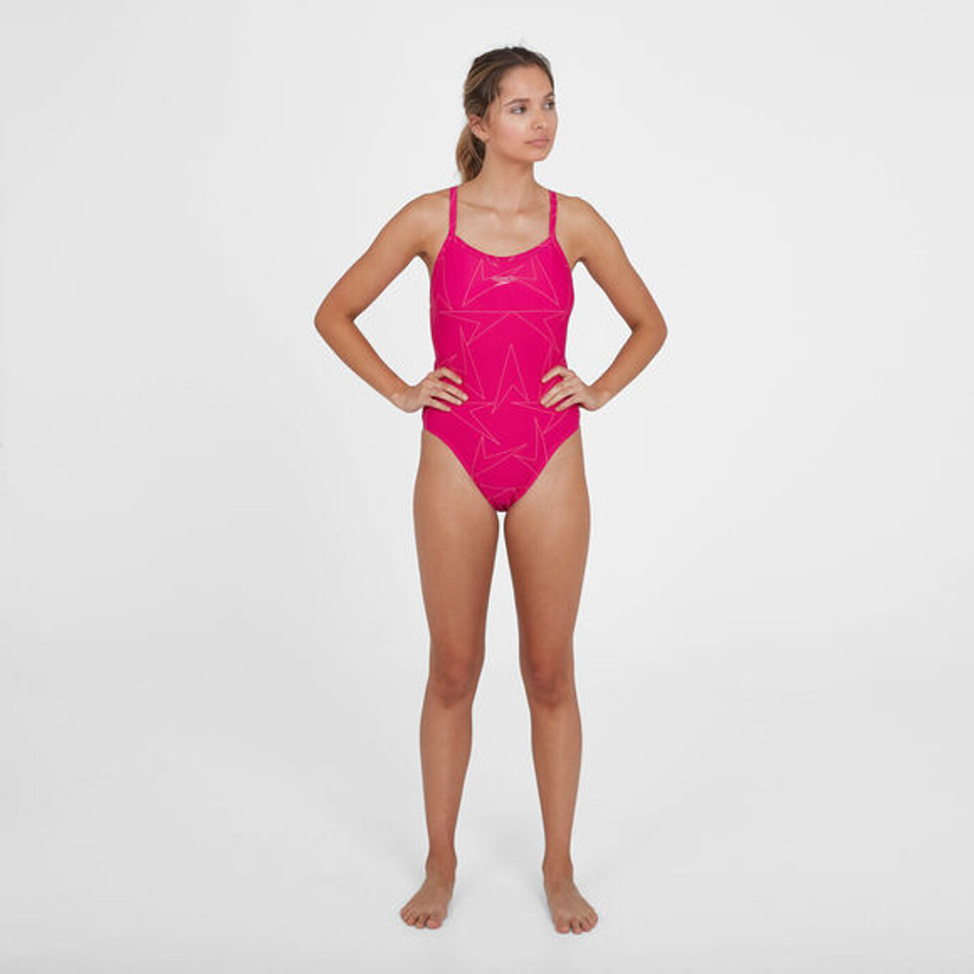 SPEEDO Boomstar Turnback Swimsuit - Damen