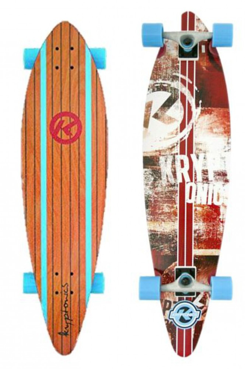 "KRYPTONICS Longboard 37"" Surf City"