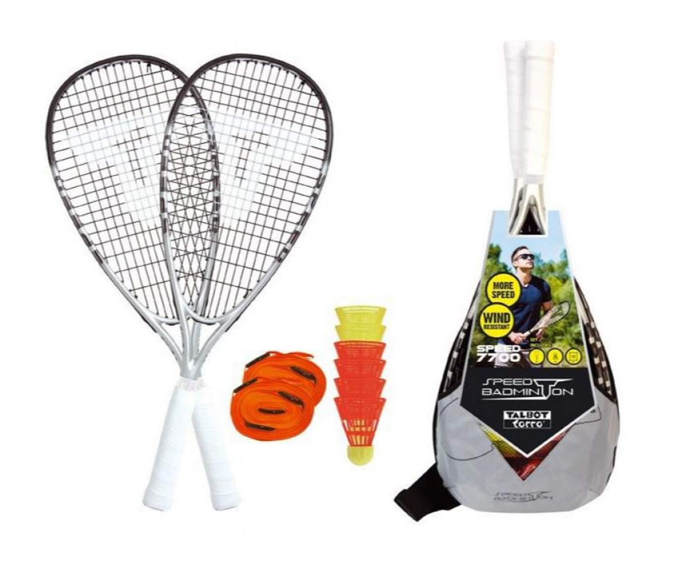 TALBOT TORRO Speedbadminton Set Speed 7700