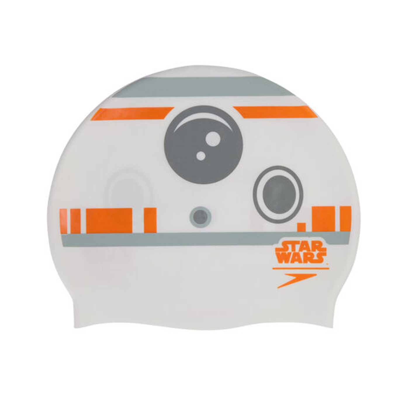 SPEEDO Star Wars Junior Print Cap BB-8 GREY/WHITE - Kinder