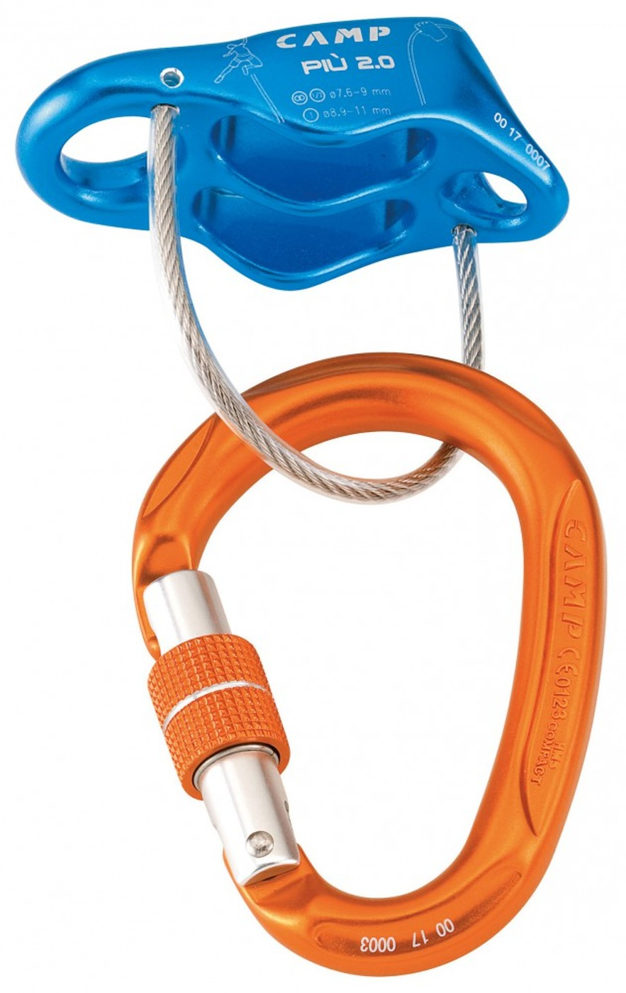 CAMP PIÙ 2.0 BELAY KIT