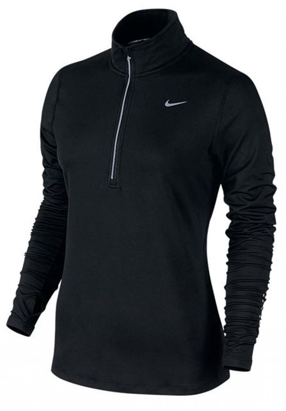 NIKE Shirt ELEMENT 1/2 Zip - Damen